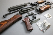 POLISH AK47 (AKM) PARTS KIT WOOD FIXED STOCK