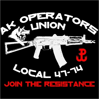 AK Operators Union Sticker - Join the Resistance