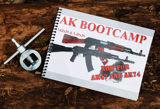 AK Bootcamp 47/74 Booklet + AK Sight Adjustment Tool Combo