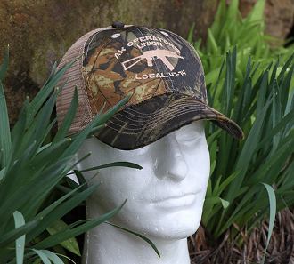 AK Operators Union Trucker / Camo Hat - Limited Edition