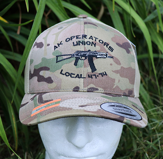 AK Operators Union Multicam Retro Trucker Hat & 2-Tone Snapback!